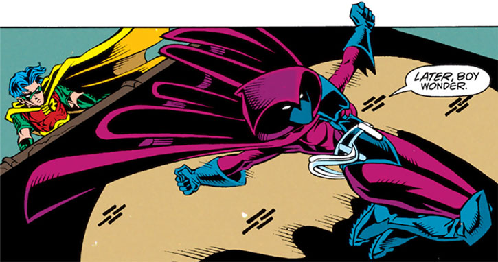 Spoiler (Stephanie Brown) and Robin