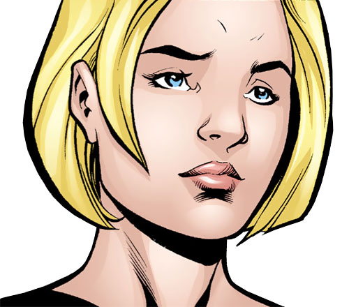 Spoiler (Stephanie Brown) (1990s DC Comics) (Batman / Robin character) sad face closeup