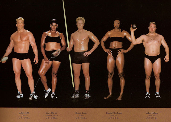 Athletic physiques photos by Howard Schatz and Beverly Ornstein, part 1
