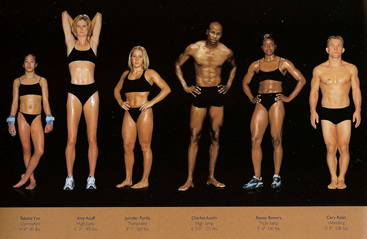 Athletic physiques photos by Howard Schatz and Beverly Ornstein, part 11
