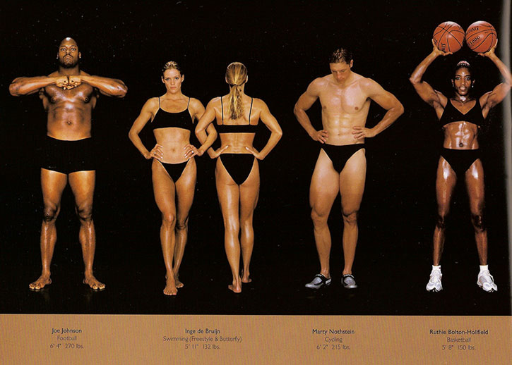 Athletic physiques photos by Howard Schatz and Beverly Ornstein, part 13