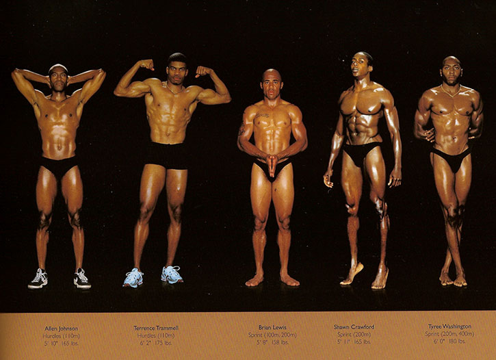 Athletic physiques photos by Howard Schatz and Beverly Ornstein, part 15