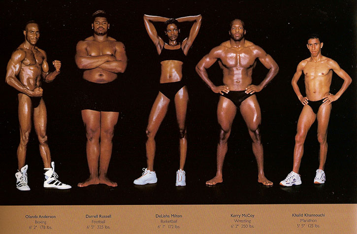Athletic physiques photos by Howard Schatz and Beverly Ornstein, part 2