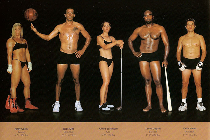 Athletic physiques photos by Howard Schatz and Beverly Ornstein, part 3
