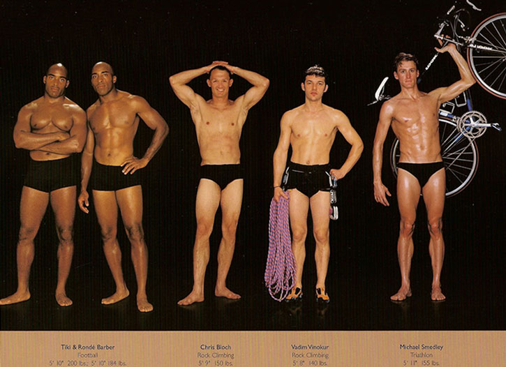Athletic physiques photos by Howard Schatz and Beverly Ornstein, part 6