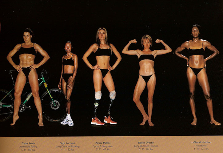 Athletic physiques photos by Howard Schatz and Beverly Ornstein, part 7