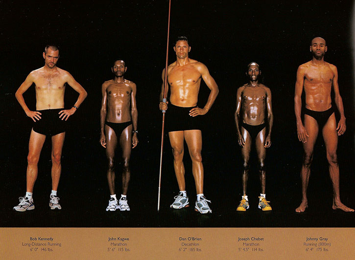 Athletic physiques photos by Howard Schatz and Beverly Ornstein, part 9