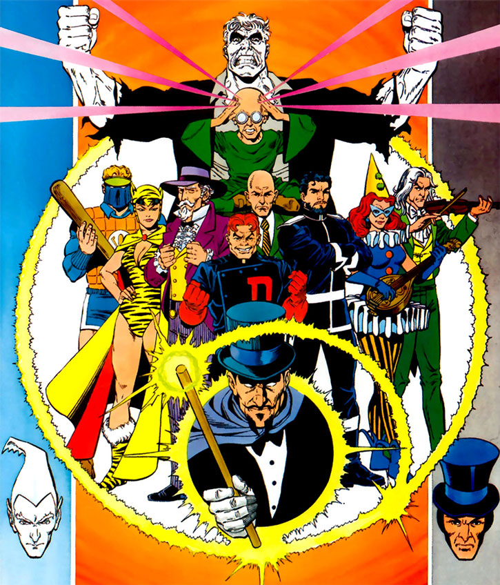 The Injustice Society by George Perez