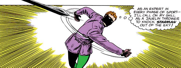 Sportsmaster throws a ski at Starman