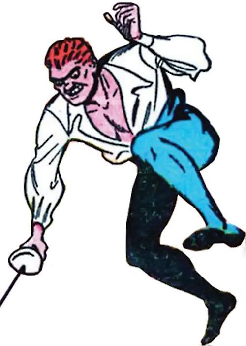 Sportsmaster (DC Comics Golden Age) - fencing