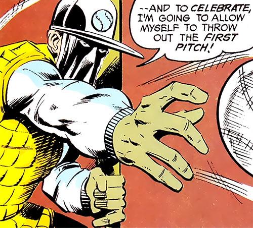 Sportsmaster (DC Comics Golden Age) - baseball catcher
