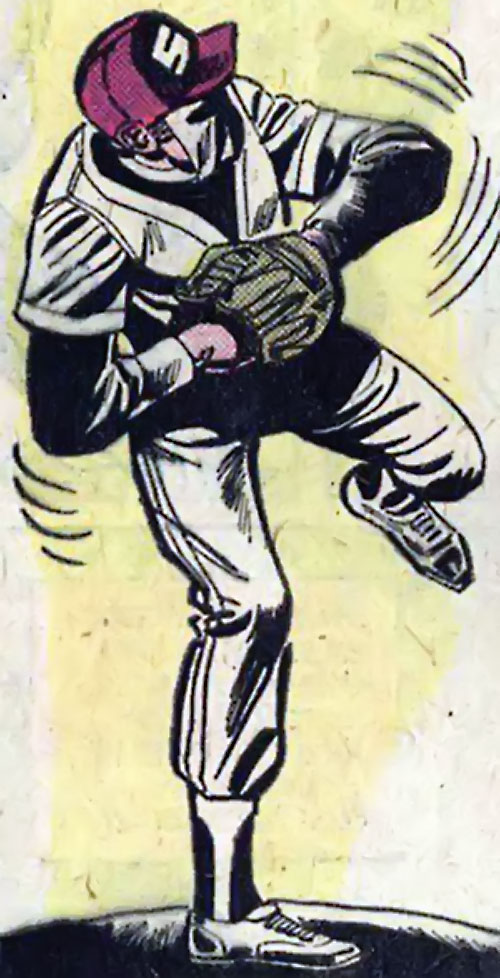 Sportsmaster (DC Comics Golden Age) - baseball