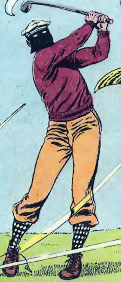 Sportsmaster (DC Comics Golden Age) - golf