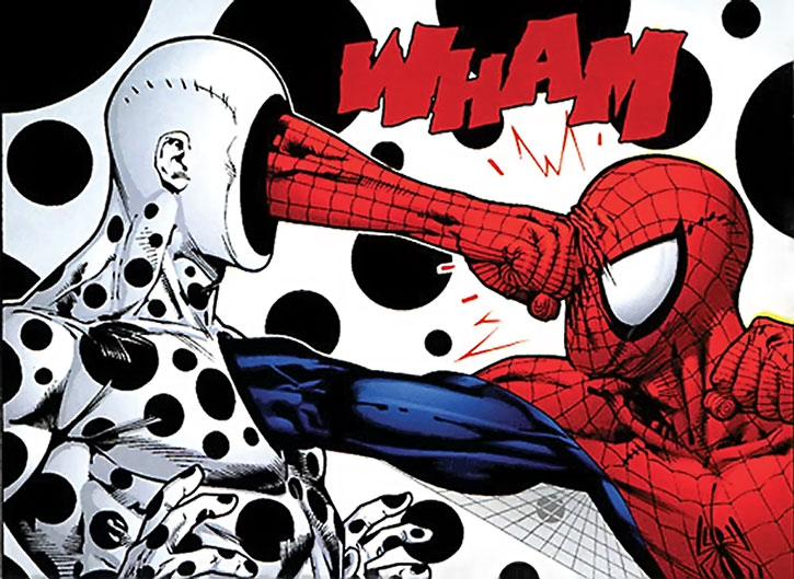 Spot vs. Spider-Man
