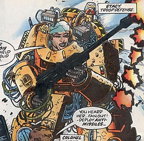 Stacy of the Warheads (Marvel Comics UK)