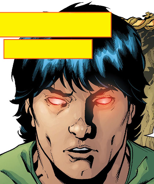 Stalker (DC Comics Implosion) face closeup by Lopresti