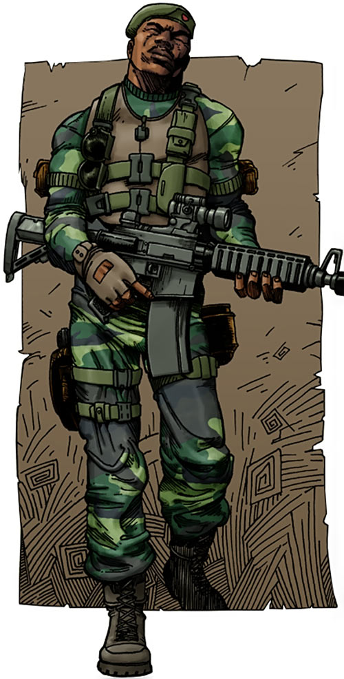 Stalker (G.I. Joe) (Marvel Comics) modern art