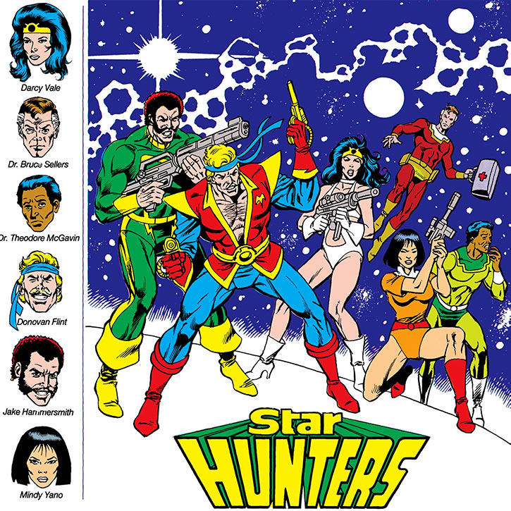 Star Hunters - DC Comics - Who's who picture