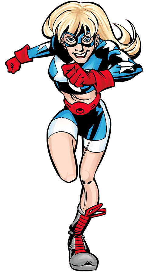 Star-Spangled Kid (Courtney Whitmore) (early, pre-Stargirl) (DC Comics)