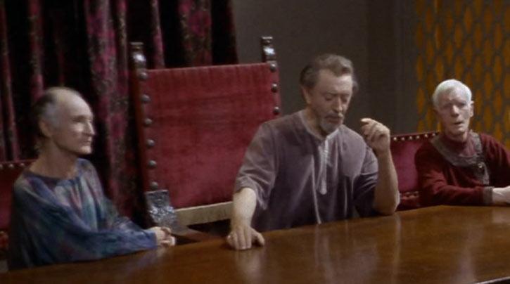 Star Trek TOS - Errand of Mercy - Organian council