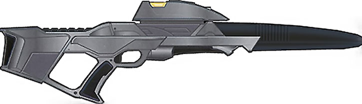 Heavy Star Trek phaser rifle