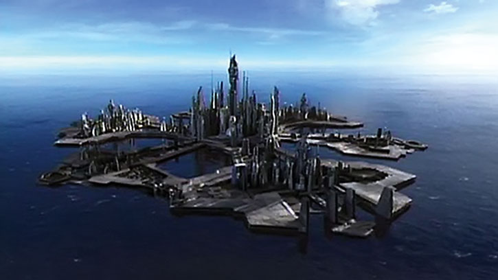 Stargate: Atlantis city