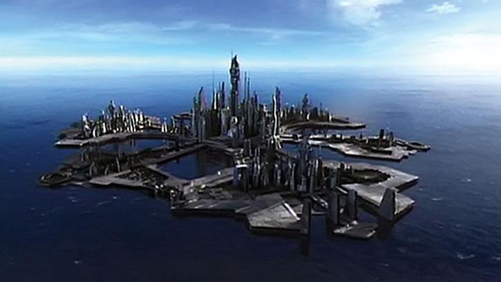 Stargate: Atlantis city