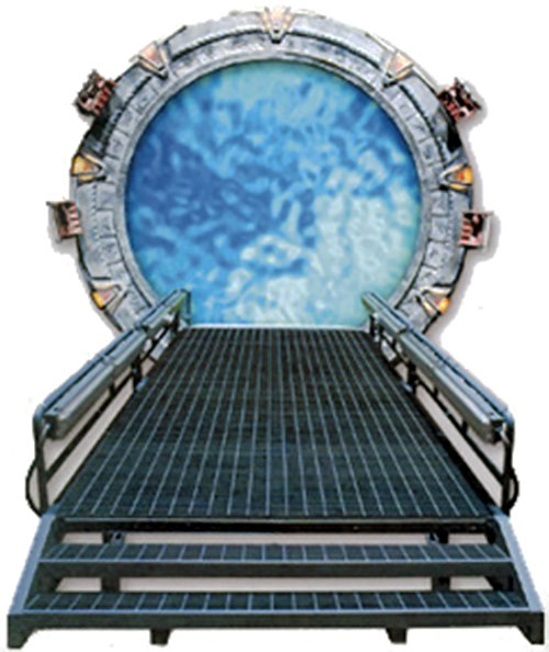 Stargate SG-1 Command headquarters portal