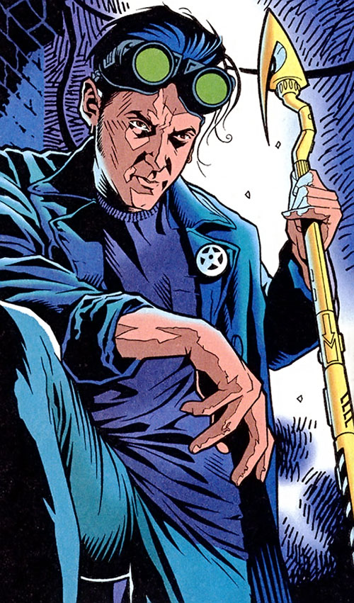Starman (Jack Knight) with his staff