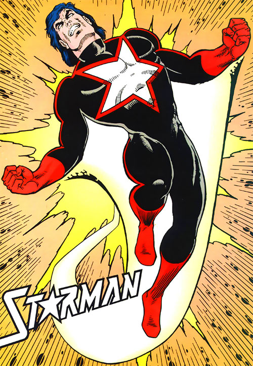 Starman (Will Payton) (DC Comics) black and red costume