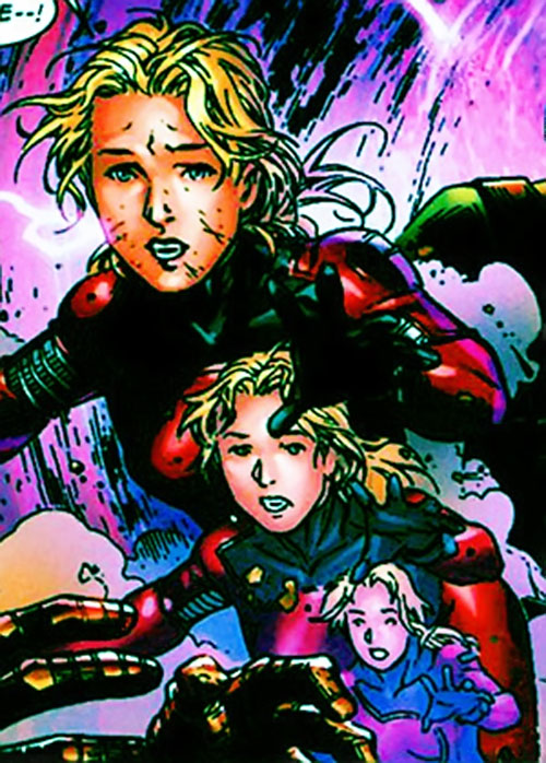 Stature of the Young Avengers (Marvel Comics) growing