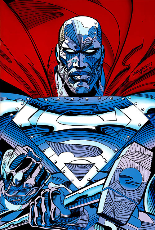 Steel (John Henry Irons) (DC Comics Superman) Man of Steel armor