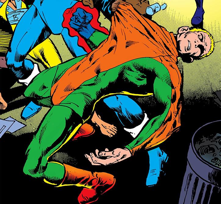 Steel Fist Fenny vs. Black Lightning (DC Comics)
