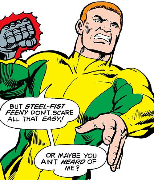 Steel-Fist Feeny (Black Lightning enemy) (DC Comics)