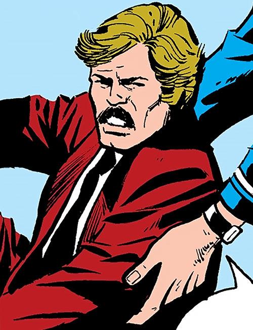 Steeplejack (Plumm) (Marvel Comics) out of costume