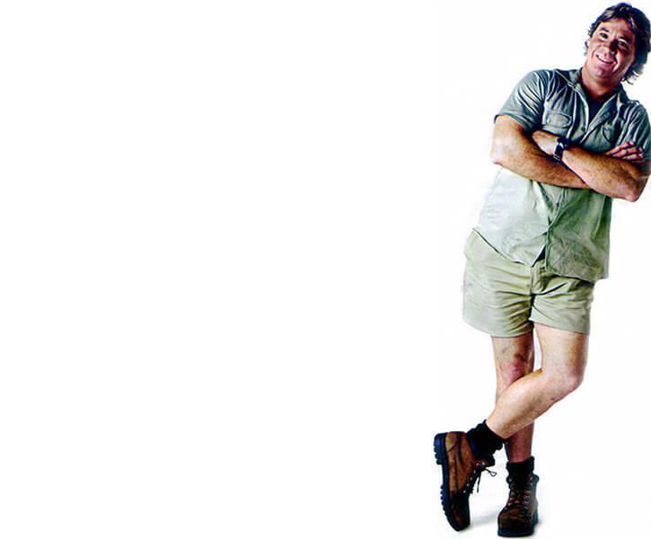 Steve Irwin the Crocodile Hunter