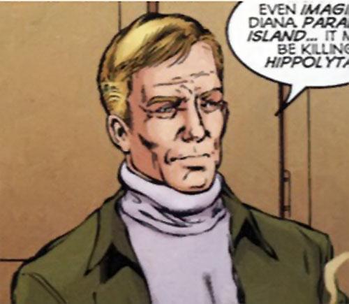 Steve Trevor (Wonder Woman ally) (Post-Crisis DC Comics) by Jimenez