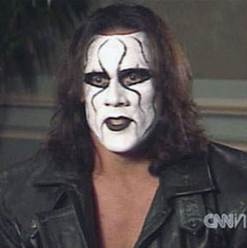 Sting (wrestler) closeup