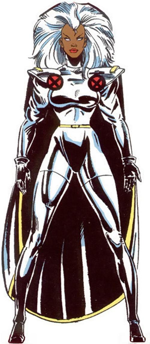 Storm of the X-Men (Marvel Comics) 1990s look