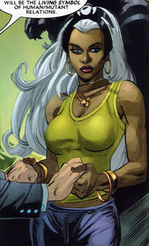 Storm of the X-Men (Marvel Comics) by Simone Bianchi