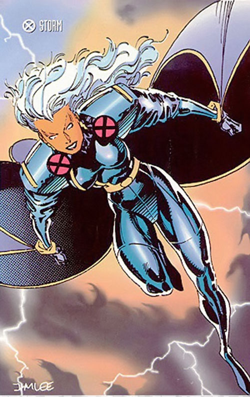Storm of the X-Men (Marvel Comics) by Jim Lee