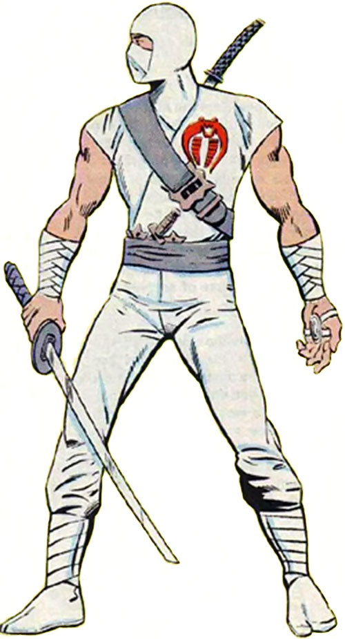 Storm Shadow (GI Joe) from the Marvel handbook