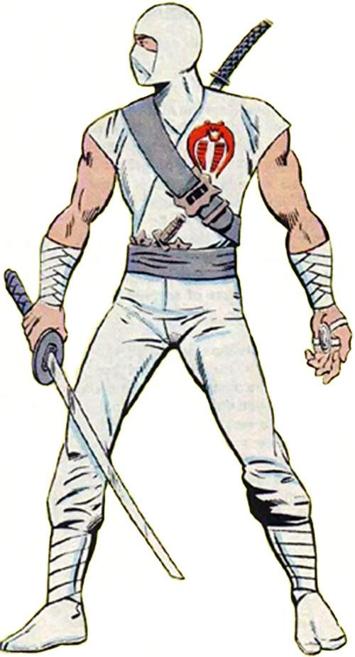 Storm Shadow (GI Joe) from the Marvel handbook