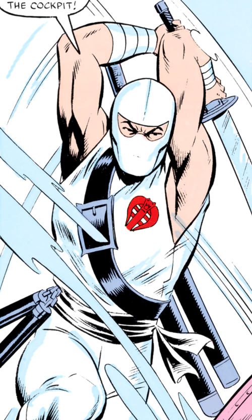 Storm Shadow - GI Joe - Marvel Comics - Sword strike