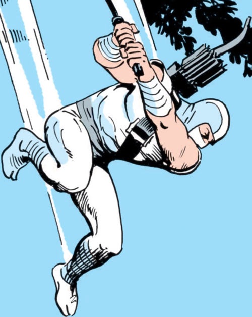 Storm Shadow - GI Joe - Marvel Comics - Death from above