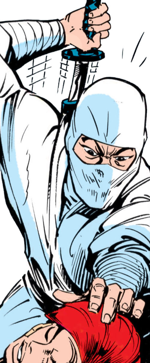 Storm Shadow - GI Joe - Marvel Comics - vs. Scarlett