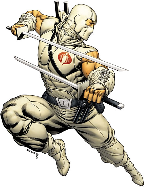 Storm Shadow - GI Joe - Marvel Comics