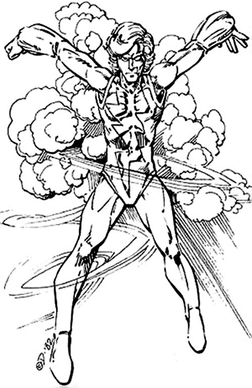 Stormlord (Villains & Vigilantes RPG)