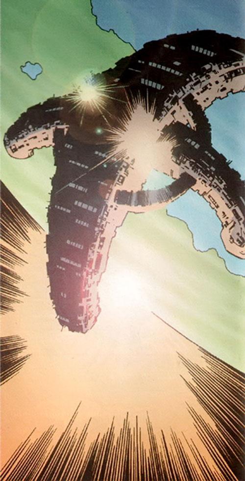 StormWatch satellite (Image comics)