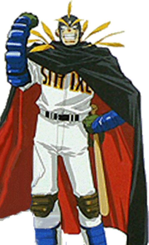 Strikeman over a white background